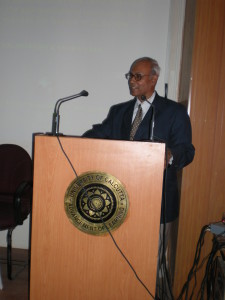 OUR SCIENTIST, S.K. PRADHAN IS DELIVERING LECTURE IN CALCUTTA UNIVERSITY