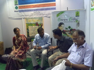 Presence in India International trade fair