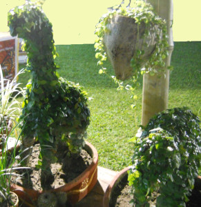 Use of topiary adds extra value for children