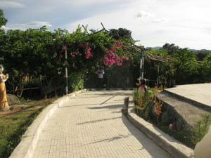 Simple rock garden in jharkhand